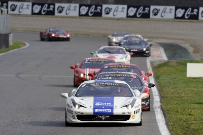 Ferrari Challenge Europe: Cas flies in Trofeo Pirelli Gostner unstoppable in Coppa Shell