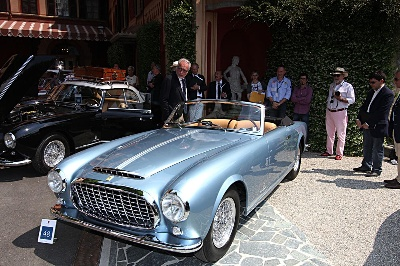 Another Ferrari Classiche restoration attracts the crowds at Villa d'Este