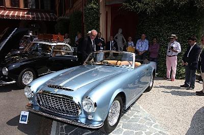 Another Ferrari Classiche restoration attracts the crowds at Villa d'Este