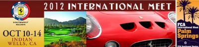 Ferrari Club Of America-Southwest Region Hosts International Meet In Palm Springs