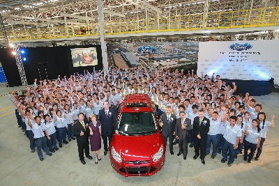 Ford Celebrates Opening of New US$450 Million (THB14 billion) Manufacturing Facility in Thailand