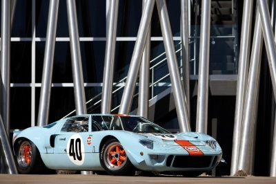 Coveted Pair of Ford GT40's Join the Starting Grid For RM's Monterey Sale