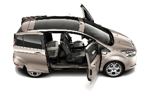 New Ford B-MAX's Easy Access Door System is Car Designer's Dream' Come to Life