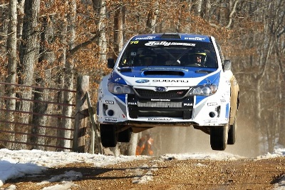 HIGGINS AND DREW CLAIM FIRST RALLY IN THE 100 ACRE WOOD VICTORY