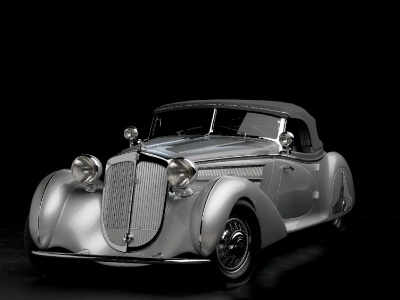 Pebble Beach 'Best Of Show' Winning Horch Returns To Monterey Peninsula For Auction
