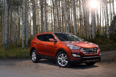 Hyundai'S 2013 Santa Fe Sport Wins Winter Vehicle Award For Best In Class Suv/Crossover Under $28,000