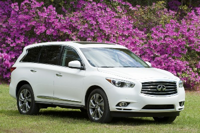 Infiniti Sales Increase 5.4 Percent For April