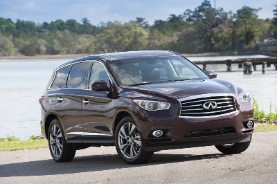 INFINITI U.S. SALES UP NINE PERCENT IN MARCH