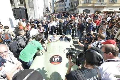 Great success for the Jaguar Heritage Racing team in the 2012 Mille Miglia