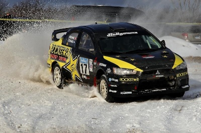 L'ESTAGE AND RICHARD WIN RALLY AMERICA SEASON OPENER SNO*DRIFT RALLY