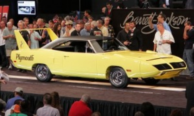 Barrett-Jackson Breaks Sales And Attendance Records At Its Spectacular 5th Annual Las Vegas Auction