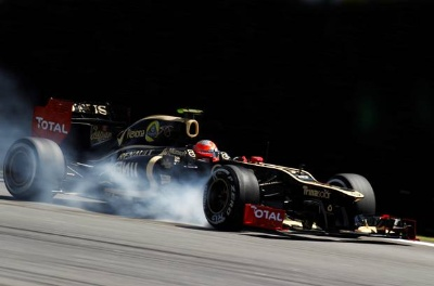 Lotus F1™ celebrates an amazing race in Brazil and a solid season's performance.
