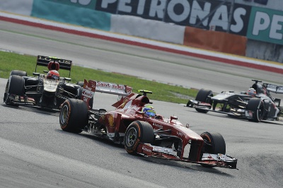 MALAYSIAN GP  FELIPE FIGHTS BACK TO FIFTH, FERNANDO'S UNLUCKY 200TH