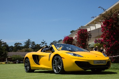 12C Spider To Make European Debut At Windsor Concours of Elegance