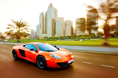 THE MCLAREN 12C NAMED MIDDLE EAST 'CAR OF THE YEAR'