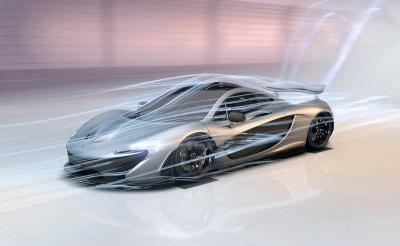 McLAREN AUTOMOTIVE SHOWCASES HOW THE McLAREN P1™ HAS BEEN 'DESIGNED BY AIR'