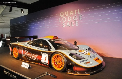McLaren-F1-Supercar-Headlines-Bonhams-Carmel-Auction,-Which-Realizes-in-Excess-of-$13-Million