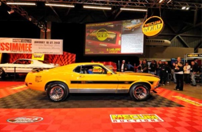 Mecum 2012 Grand Finale In Kansas City Wraps Record-Breaking Year