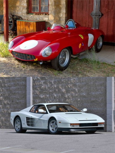 Six-Decades-Of-Ferrari-At-Mecums-Daytime-Auction