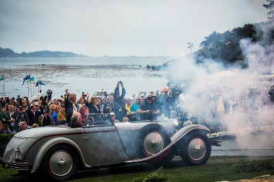 Mercedes-Benz wins Best of Show title at the 2012 Pebble Beach Concours d'Elegance