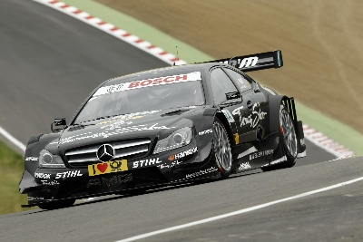 Gary Paffett secures 110th DTM pole for Mercedes