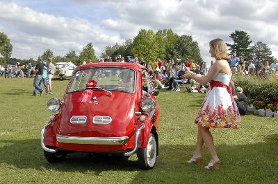 Micro cars at this year's Glenmoor Gathering