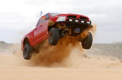 Mopar Ram Runner Wins Truck Duel in the Desert