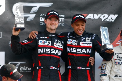 Nissan Takes British Win
