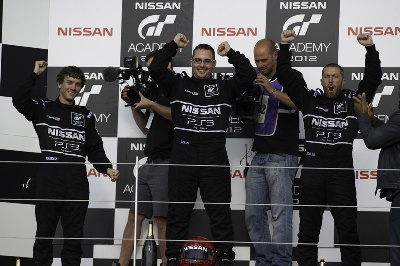 NISSAN GT ACADEMY NORTH AMERICA SEASON 2 CROWNS DOHERTY, EYES FIRST INTERNATIONAL RACE IN JANUARY