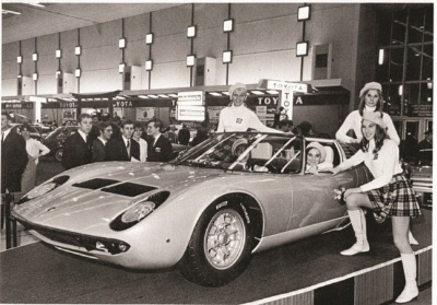 THE ONLY ORIGINAL LAMBORGHINI MIURA ROADSTER EVER BUILT COMES TO THE AMELIA ISLAND CONCOURS