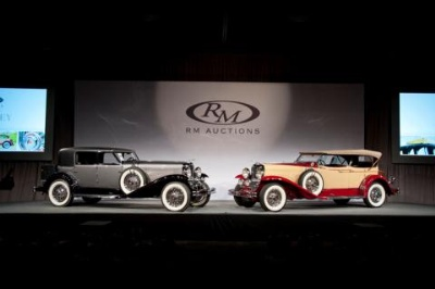 Pair Of Majestic Duesenbergs Top RM's $10.7 Million Hershey Sale