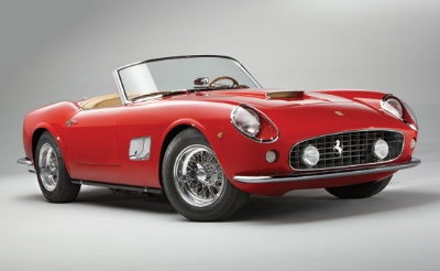 Factory Certified Short Wheelbase California spyder Latest Star Attraction For RM's Monterey Auction