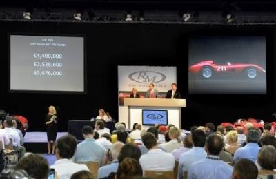 RM Auctions at the Monaco Historics