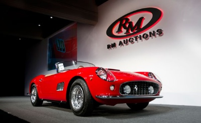 RM Auctions Posts a Spectacular $95 Million in Monterey