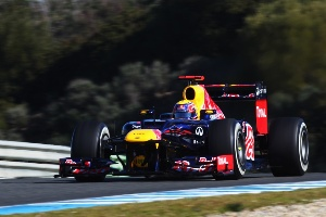 Infiniti and Red Bull Racing Return to Barcelona for Final Test: Day 2