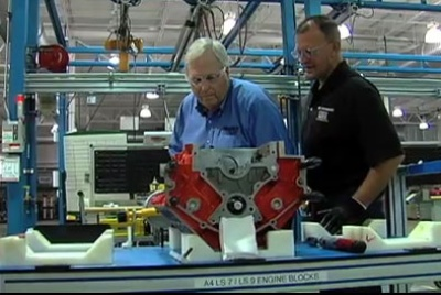 Rick Hendrick Builds Custom Engine For 2010 COPO Camaro