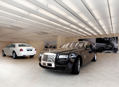 ROLLS-ROYCE MOTOR CARS LAUNCHES THIRD SHOWROOM IN INDIA