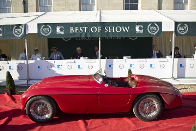 Chubb Insurance Concours d'Elegance Judging Day Concludes Salon Prive 2012
