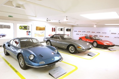 The-Ferraris-of-Sergio-Pininfarina-At-The-Ferrari-Museum-in-Maranello
