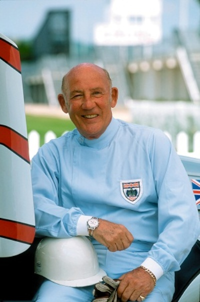 Sir Stirling Moss Returns To The Amelia Concours