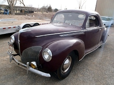 Vicari Auction To Offer Rare 1940 Zephyr at Cruisin' Nocona