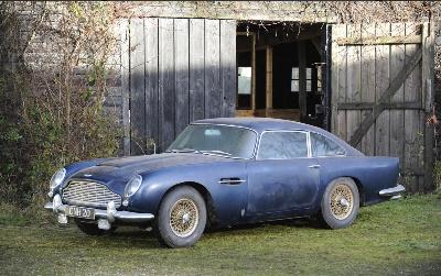 'Barn find' Aston Martin at Bonhams sale