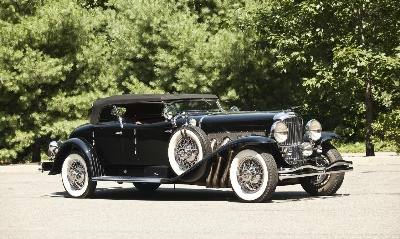 Unique American Classics join Bonhams' inaugural automobile auction next week in Boca Raton, Florida