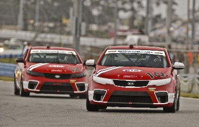 KIA RACING AND COLIN BRAUN CAPTURE FIRST PIRELLI WORLD CHALLENGE PODIUM FINISH ON THE STREETS OF LONG BEACH