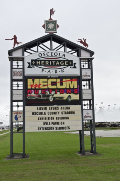 Mecum Opens Its 2013 Auction Lineup With The World's Largest