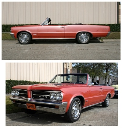 VICARI AUCTIONS' NEWLY LISTED NOCONA CLASSICS INCLUDE 1964 PONTIAC GTO, 1957 'RESTO MOD' CHEVY BEL AIR