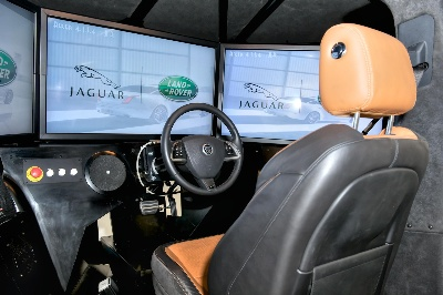 CRUDEN SUPPLIES JAGUAR LAND ROVER WITH DRIVING SIMULATOR