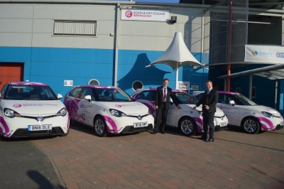 MG MOTOR UK PARTNERS WITH LOCAL BIRMINGHAM COLLEGES