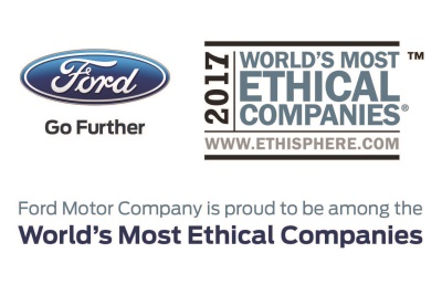 Ford Is Named One Of The World's Most Ethical Companies For Eighth Year In A Row