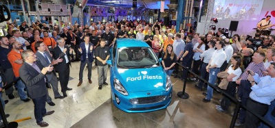 Here They Come! Full Range Of All-New Fiesta Models To Succeed UK's Top-Selling Car Roll Off Assembly Line